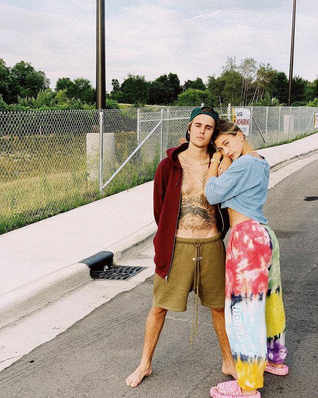 "<p>After spending quarantine together - where Justin and Hailey also filmed a reality-style online series called The Biebers - the couple embarked on a US roadtrip staycation.</p><p><a href=""https://www.instagram.com/p/CDSTSkonWFN/"" rel=""nofollow noopener"" target=""_blank"" data-ylk=""slk:See the original post on Instagram"" class=""link rapid-noclick-resp"">See the original post on Instagram</a></p>"