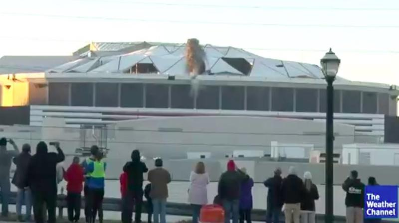 Georgia Dome Demolition Coverage Gets Wrecked In The Best Way Possible