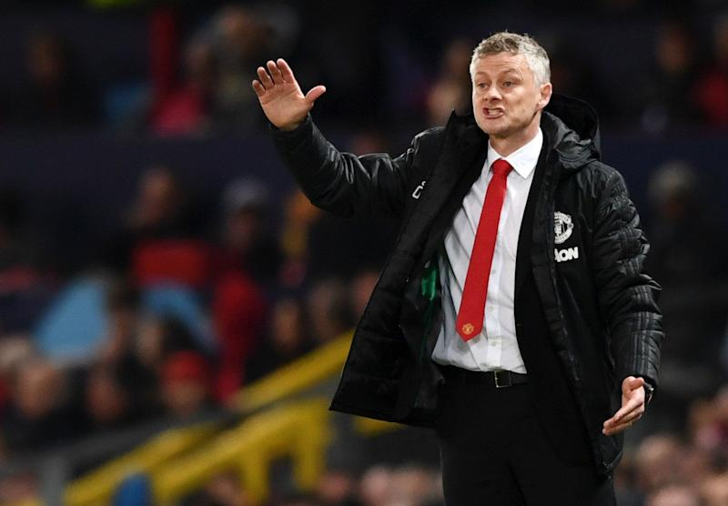Man Utd boss Solskjaer challenges strikers in Barcelona