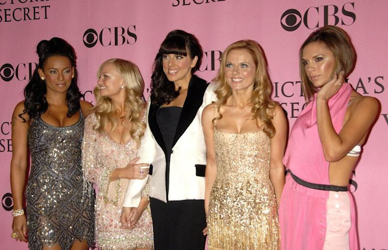 <strong>2007</strong> The Spice Girls at the Victoria's Secret 25th Anniversary Fashion Show