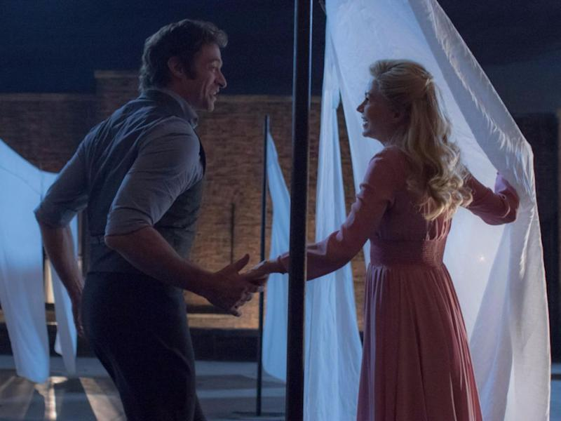 When P.T Barnum (Hugh Jackman) has his idea for the circus, he hopes it will save his wife (Michelle Williams) and their two kids from a life of struggles. Source: 20th Century Fox