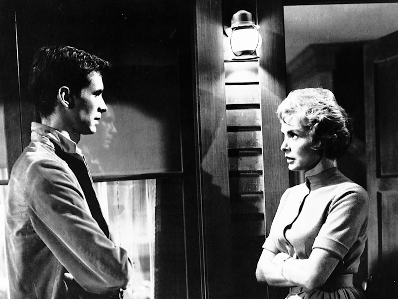 Anthony Perkins' (left) famous 'Psycho' character was inspired by real-life killer Ed GeinUniversal
