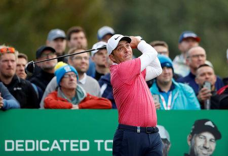 FILE PHOTO: Golf - European Tour - British Masters - Walton Heath Golf Club, Walton-on-the-Hill, Britain - October 12, 2018 Italy's Francesco Molinari during the second round. Action Images via Reuters/Andrew Boyers/File Photo