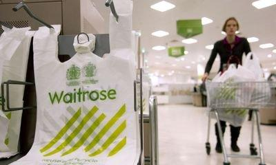 Waitrose to remove all plastic bags by spring 2019