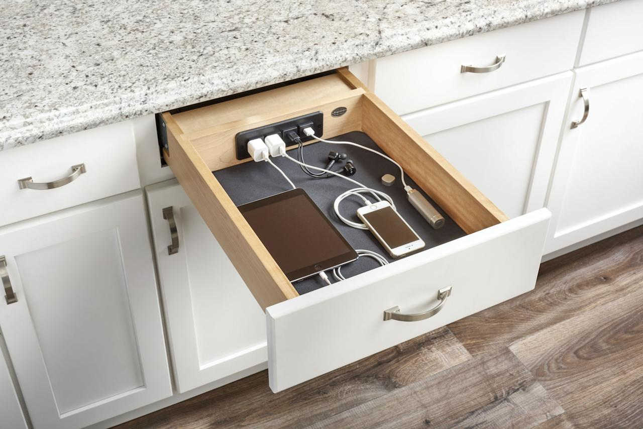 """<p>There are few things<em> </em>more satisfying than a <a href=""""https://www.goodhousekeeping.com/home/organizing/tips/g1397/small-kitchen-storage/"""" target=""""_blank"""">well-organized kitchen</a> ... but because it's one of your family's favorite rooms to hang out in (for obvious reasons), it's probably the hardest place in your home to keep neat and orderly. (Have you dared to<em> </em>look inside your <a href=""""https://www.goodhousekeeping.com/food-products/a25642641/youcopia-food-container-lid-organizer-review/"""" target=""""_blank"""">Tupperware</a> cabinet lately<em></em>? Exactly.) Thankfully, that's where these super-smart kitchen drawer and cabinet organizers come in. Each of these genius solutions is designed to solve a specific kitchen storage problem, ranging from tangled cords to piled-high pans, so you can focus less on finding a spot for your <a href=""""https://www.goodhousekeeping.com/home/organizing/g2796/how-to-organize-pots-and-pans/"""" target=""""_blank"""">pots, pans</a>, and produce, and more on actually <em>enjoying </em><a href=""""https://www.goodhousekeeping.com/food-recipes/g605/family-style-recipes/"""" target=""""_blank"""">delicious meals with your family. </a></p><p>So, take stock of your kitchen to see what areas need the most help (your overflowing spice cabinet, perhaps?) and then DIY or buy one — or all — of these nifty organizers. </p>"""