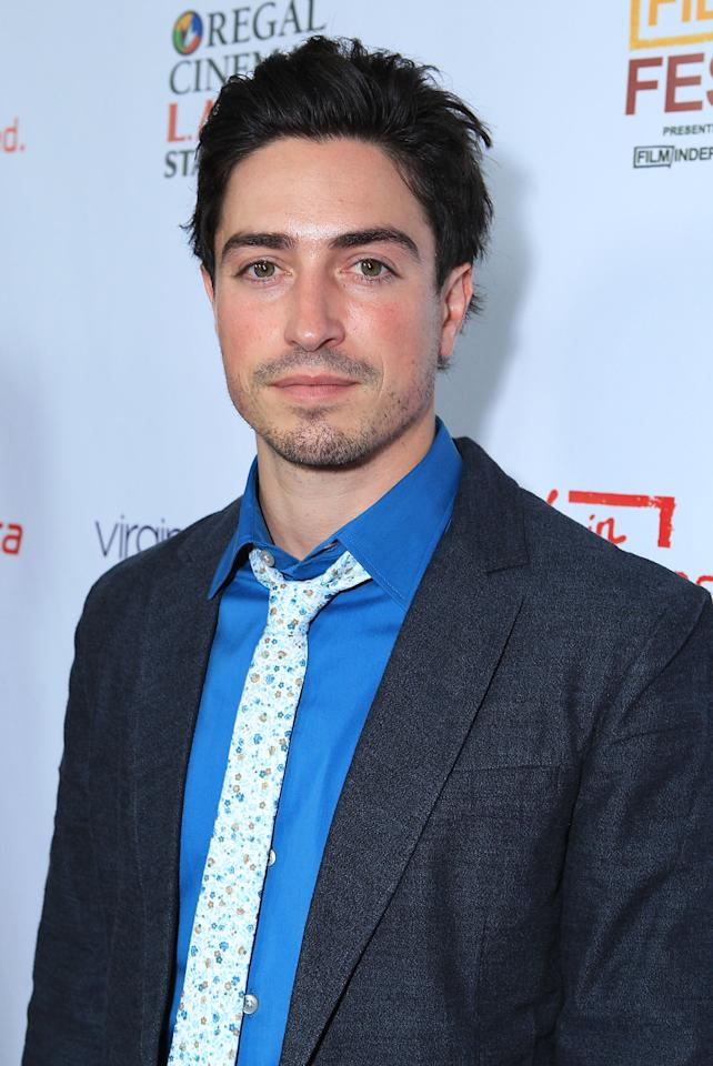 """Ben Feldman at The 2012 Los Angeles Film Festival Official Kick Off Premiere Of """"Departure Date"""" sponsored by Virgin Airlines held at The Regal Cinemas L.A. LIVE Stadium 14 on June 11, 2012 in Los Angeles, California.  (Photo by Alexandra Wyman/WireImage)"""