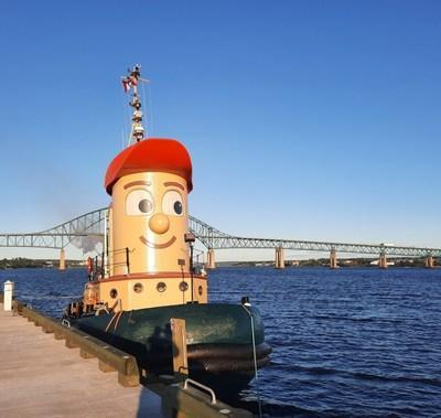 Theodore TOO berthed at Station Marina in Miramichi, NB. June 17, 2021. (CNW Group/BWTT Holdings Inc.)