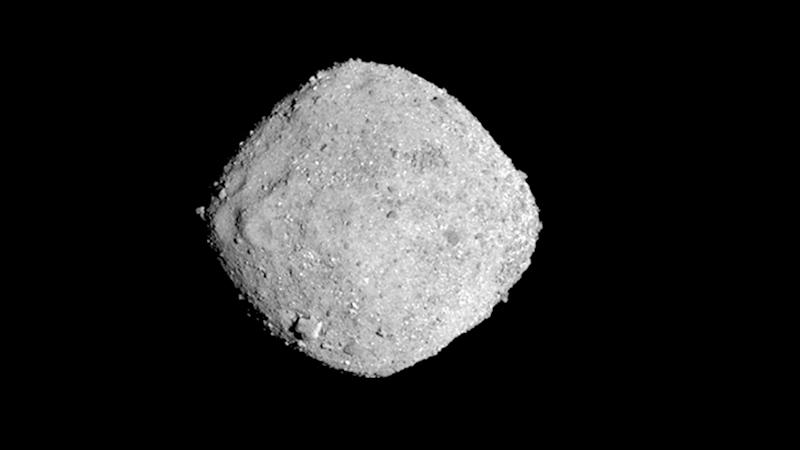 <p>Scientists have released the first data collected since their spacecraft Osiris-Rex hooked up last week with the asteroid Bennu.</p>