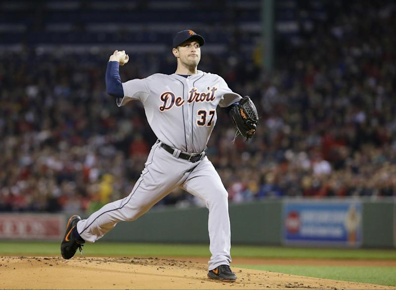 Scherzer stands between Red Sox and World Series