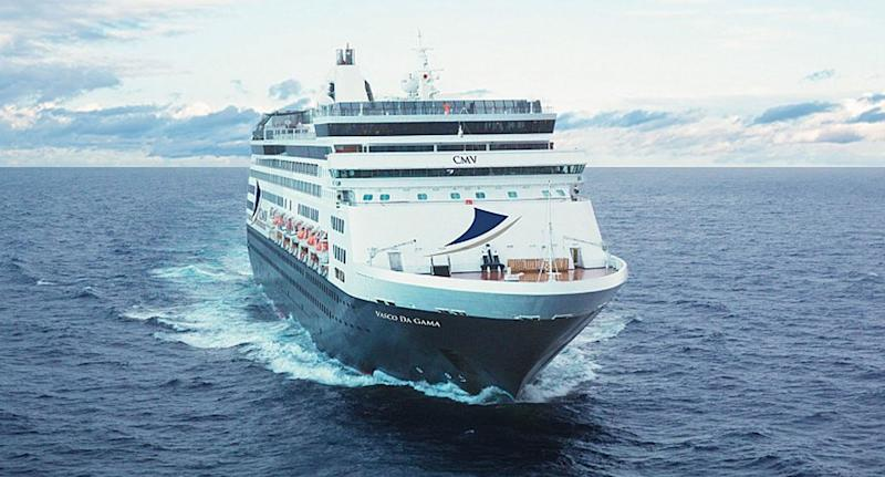 The vessel was stranded for hours, passengers say. Source: Cruise and Maritime Voyages, file.