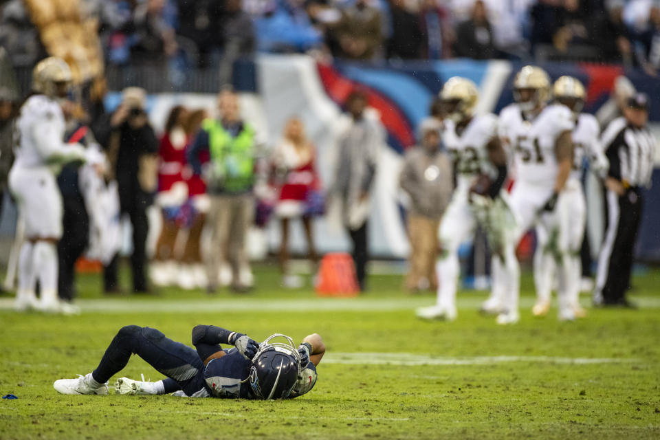 An inexcusable missed call on Sunday had implications for the playoffs and player safety. (Brett Carlsen/Getty Images)