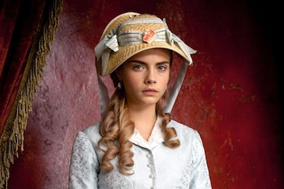 <p>Model-turned-actress Delevingne made her silver screen debut as Princess Sorokina in the 2012 period piece <em>Anna Karenina, </em>based on the novel by Leo Tolstoy.</p>