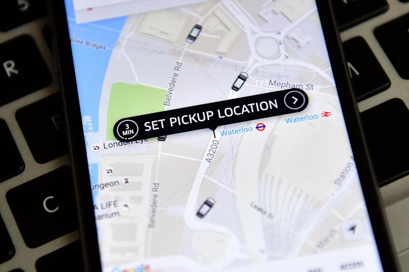 City Hall has banned the controversial taxi-app: Getty Images