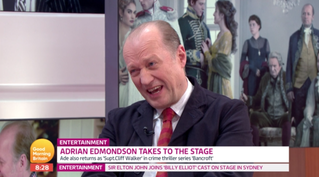 Ade Edmondson on GMB (ITV)