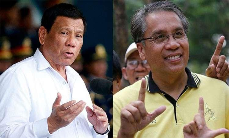 Duterte to Roxas: 'You're nothing, I can shoot you for free'
