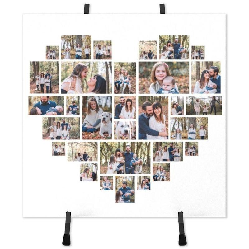 Ceramic Photo Tile With Easel. (Photo: Walmart)