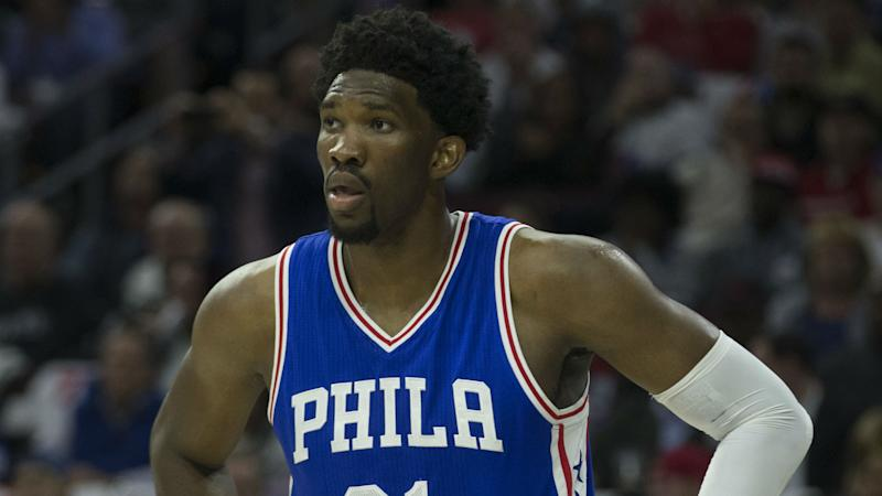 Sixers' Joel Embiid rips Andre Drummond: 'He doesn't play any defense'