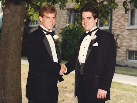 Mike Rob Buchner CEO brothers wedding