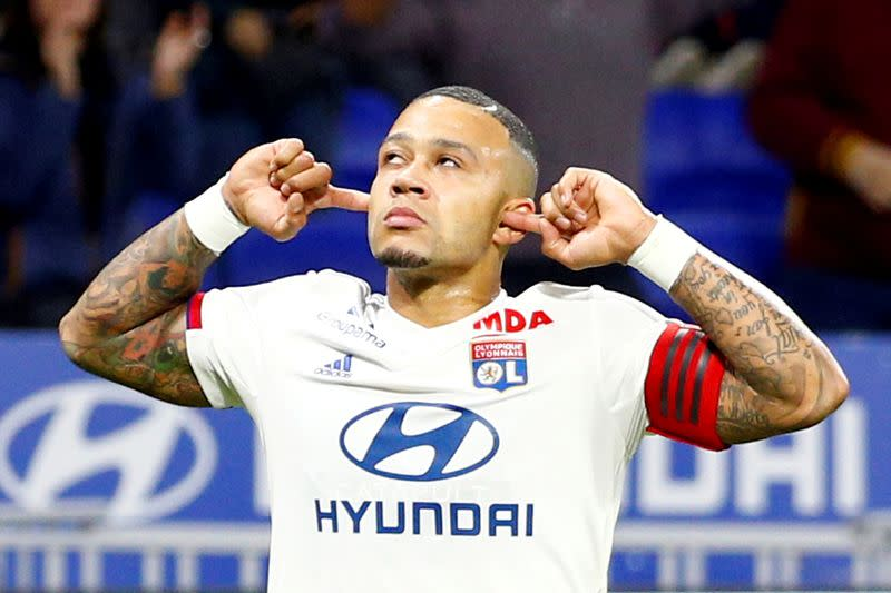 Depay back for Lyon six months after horror knee injury
