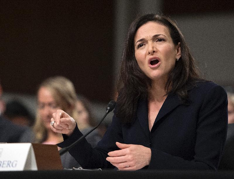 """The 49-year-old Sheryl Sandberg has long been seen as a stabilizing force at Facebook, led by 34-year-old Mark Zuckerberg, whose early mantra had been to """"move fast and break things"""""""
