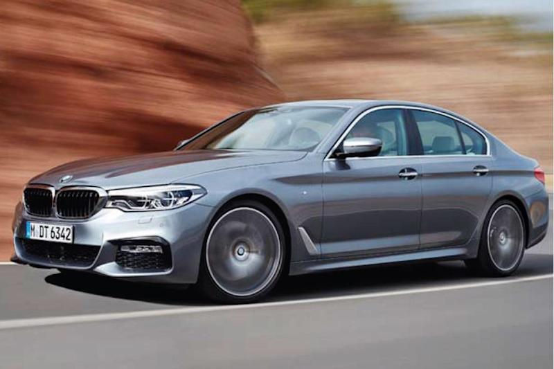 Safety first: the BMW 5 Series is kitted out with extensive technology to assist the driver
