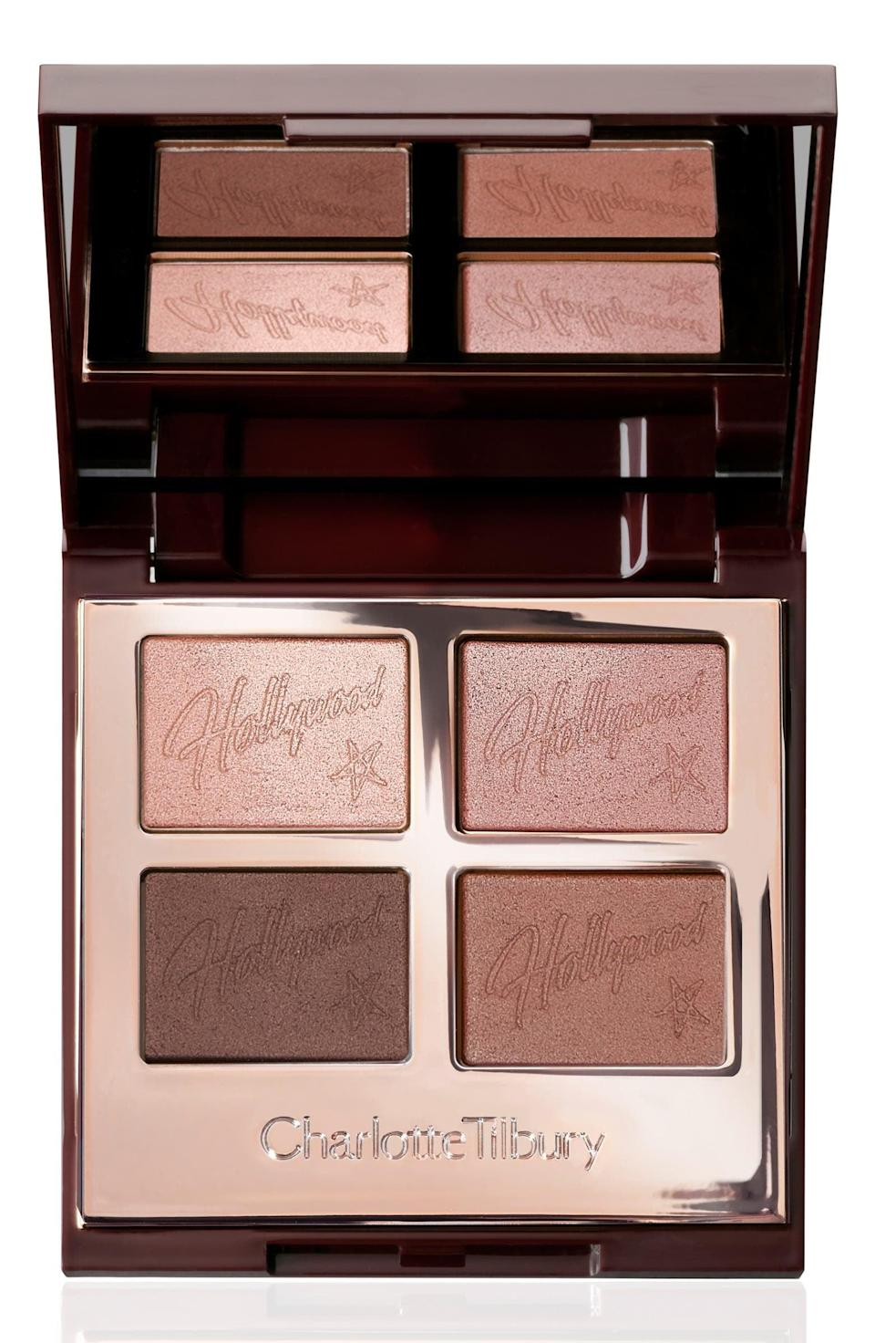 <p>Get a smoldering glam look with the <span>Charlotte Tilbury Hollywood Flawless Eye Filter Luxury Palette</span> ($53).</p>