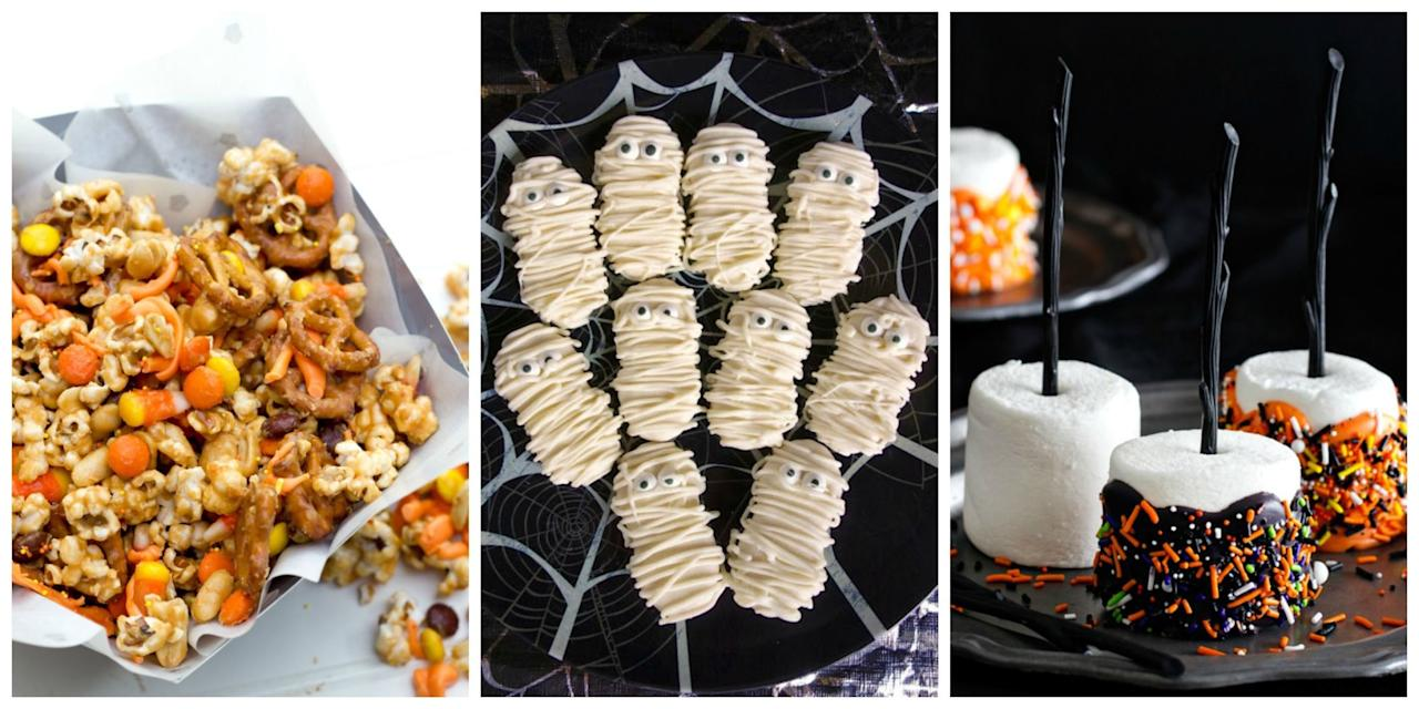 <p>Bake, shake, and create these hauntingly good recipes for your next soirée.</p>