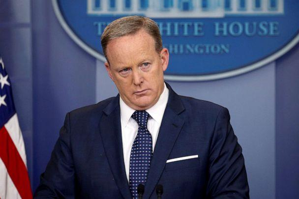 PHOTO: White House Press Secretary Sean Spicer holds his daily briefing at the White House in Washington, June 2, 2017. (Jonathan Ernst/Reuters, FILE)