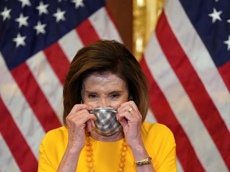 Speaker of the House Nancy Pelosi argued Donald Trump was making distractions with latest comments: REUTERS