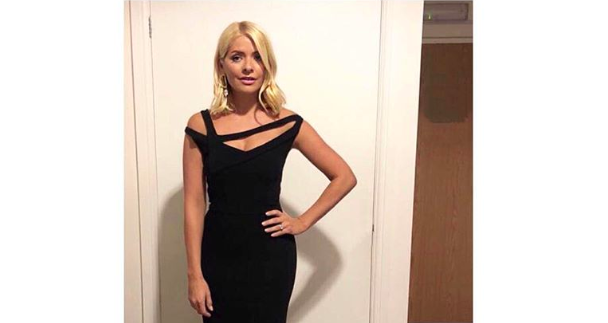 Fans went crazy for Holly Willoughby's latest look with many already on the hunt for similar dresses [Photo: Instagram]