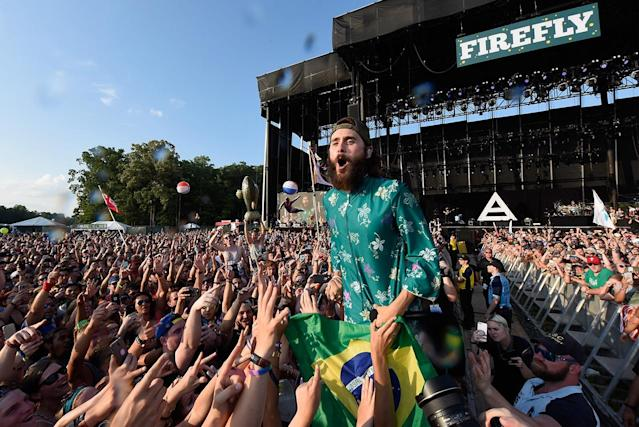 <p>Jared Leto of Thirty Seconds to Mars performs onstage during the 2017 Firefly Music Festival on June 18, 2017 in Dover, Delaware. (Photo by Kevin Mazur/Getty Images for Firefly) </p>