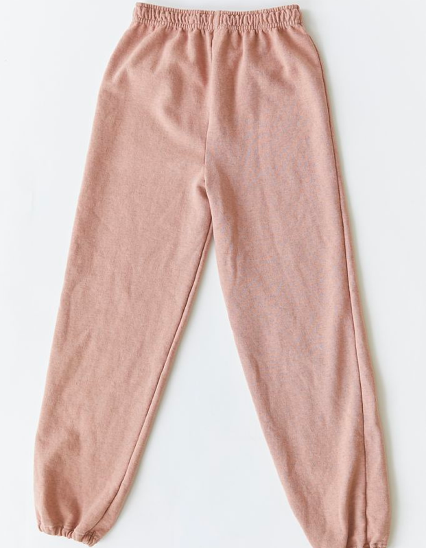 """Looking for more of a baggy, relaxed fit? Try these upcycled sweats featuring a high-waist drawstring and tapered ankle cuffs—available in a range of dreamy colors. $49, Urban Outfitters. <a href=""""https://www.urbanoutfitters.com/shop/urban-renewal-recycled-overdyed-heathered-sweatpant?"""" rel=""""nofollow noopener"""" target=""""_blank"""" data-ylk=""""slk:Get it now!"""" class=""""link rapid-noclick-resp"""">Get it now!</a>"""