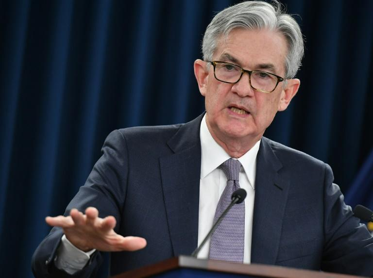 Federal Reserve Chairman Jerome Powell said the central bank will continue to provide stimulus to the economy 'for as long as it takes'