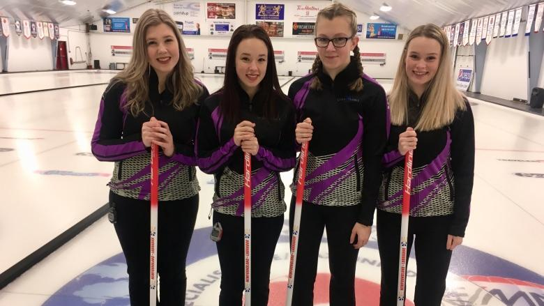 Team of teens scores N.L. berth at Canadian Junior Curling Championships