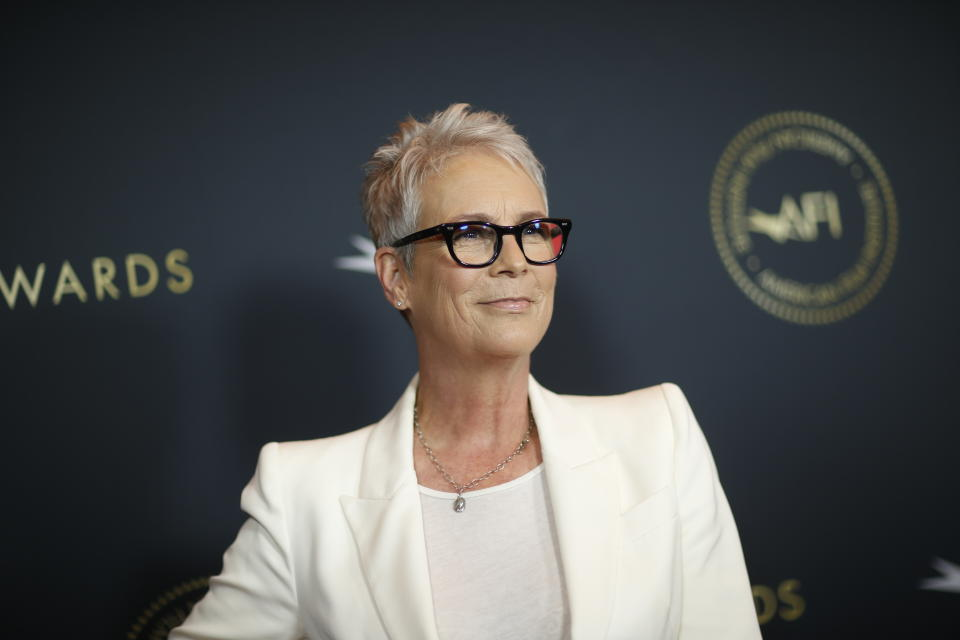 Actor Jamie Lee Curtis attends the AFI 2019 Awards luncheon in Los Angeles, California, U.S., January 3, 2020. REUTERS/Mario Anzuoni