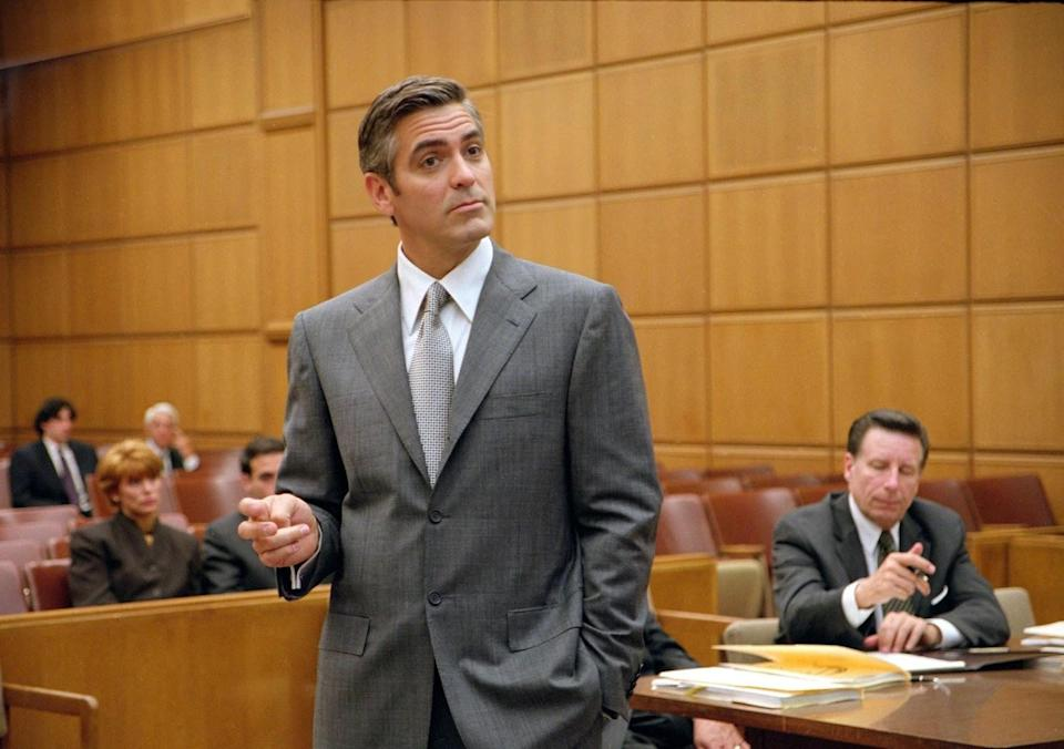 """George Clooney as Miles Massey in """"Intolerable Cruelty."""""""