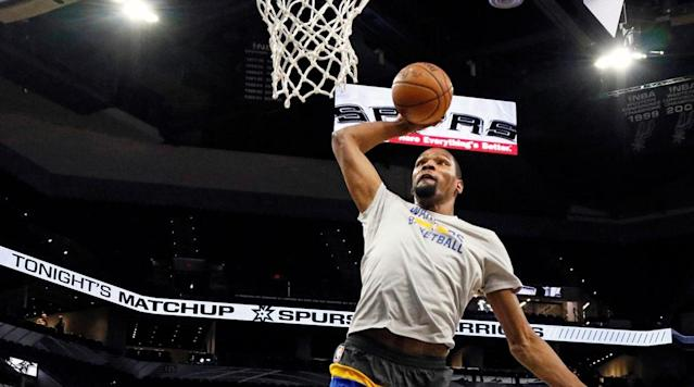 Kevin Durant expected to return Saturday vs. Pelicans