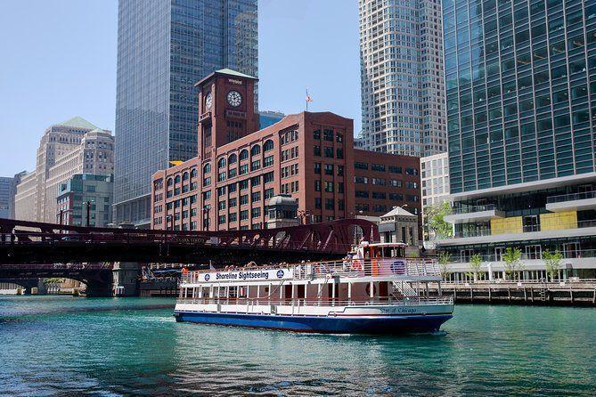 "<p><strong><a href=""https://www.viator.com/tours/Chicago/Chicago-Architecture-River-Cruise/d673-5580ARC"" rel=""nofollow noopener"" target=""_blank"" data-ylk=""slk:Chicago Architecture River Cruise"" class=""link rapid-noclick-resp"">Chicago Architecture River Cruise</a></strong></p><p><strong>Chicago, Illinois </strong></p><p>This river cruise gives you the chance to see Chicago from a different point of view. As you glide down the Chicago River, you'll listen to your guide describe all the famous architecture as you pass by, and you'll learn a ton of interesting history about the city. </p>"