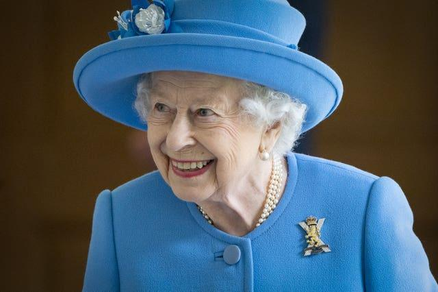 The Queen in Scotland (Jane Barlow/PA)
