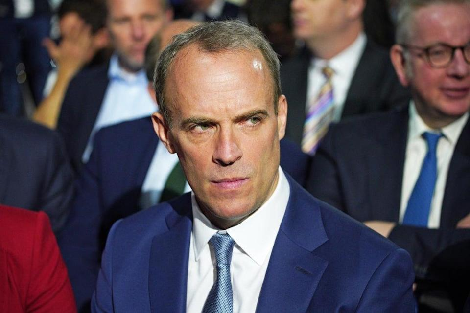 Justice Secretary Dominic Raab (Peter Byrne/PA) (PA Wire)