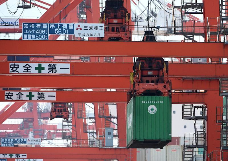 Japan's trade deficit more than quadruple year-on-year in June with exports sagging while imports grow (AFP Photo/Toru Yamanaka)