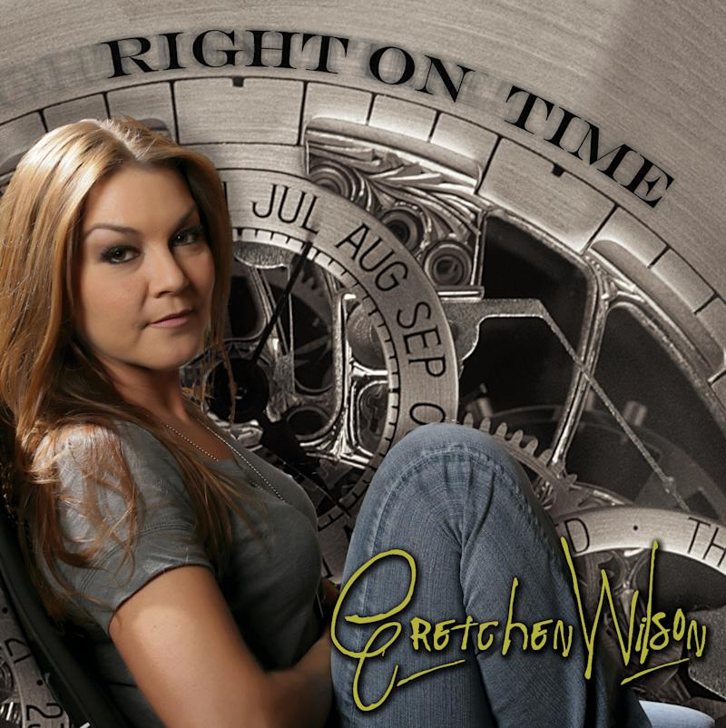 """This CD cover image released by Redneck Records shows """"Right on Time,"""" by Gretchen Wilson. (AP Photo/Redneck)"""