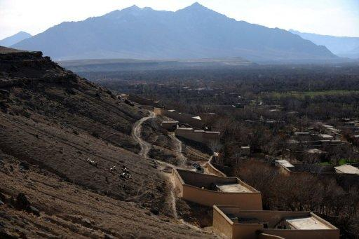 A roadside bomb hit a truck, killing six people, in the Chora district of Uruzgan province today
