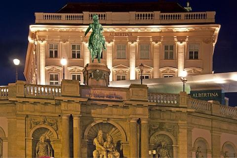Vienna's Albertina Museum - Credit: getty