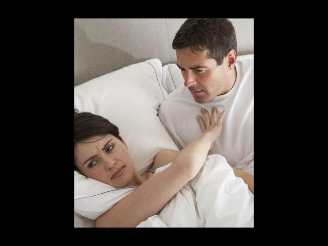 """<p><strong>""""Not tonight, honey.""""</strong><br /><br />There may be something that is unsettling you and cutting down your sexual desire, but when you say 'not tonight, honey', you may bruise him. Share and let him know the reasons for your 'No'. Most men feel that turning down sex is a rejection of them.</p>"""