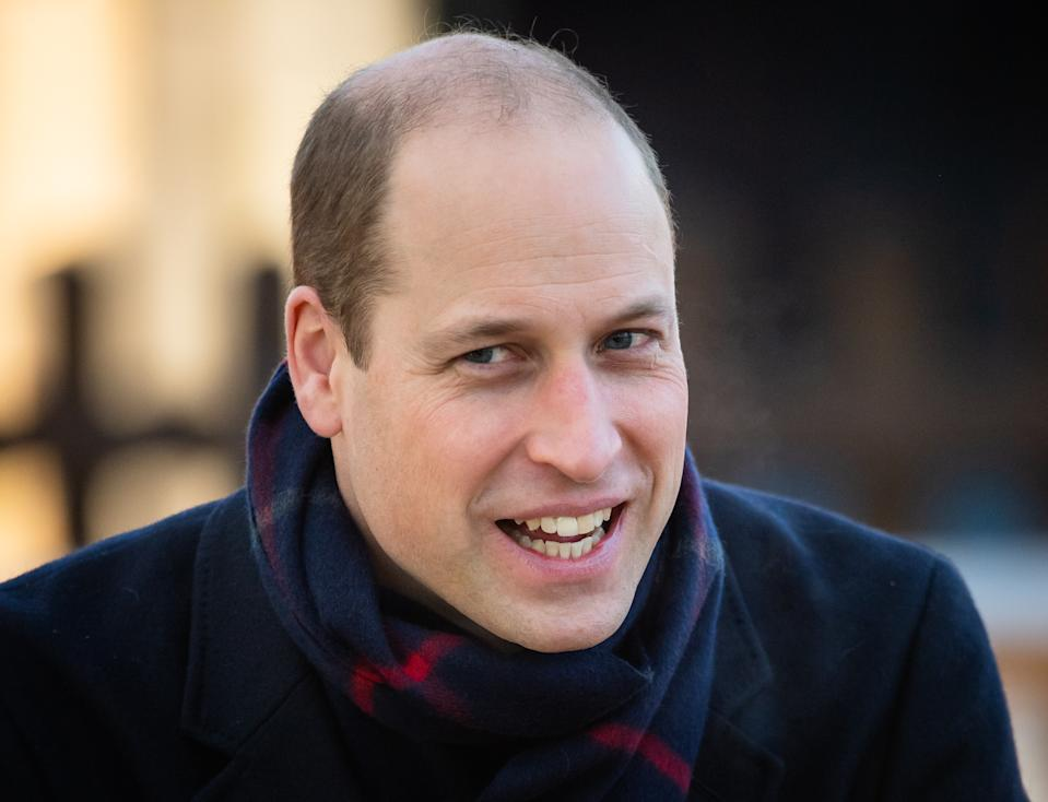 CARDIFF, WALES - DECEMBER 08: Prince William, Duke of Cambridge visits  Cardiff Castle  on December 08, 2020 in Cardiff, Wales. (Photo by Samir Hussein/WireImage)