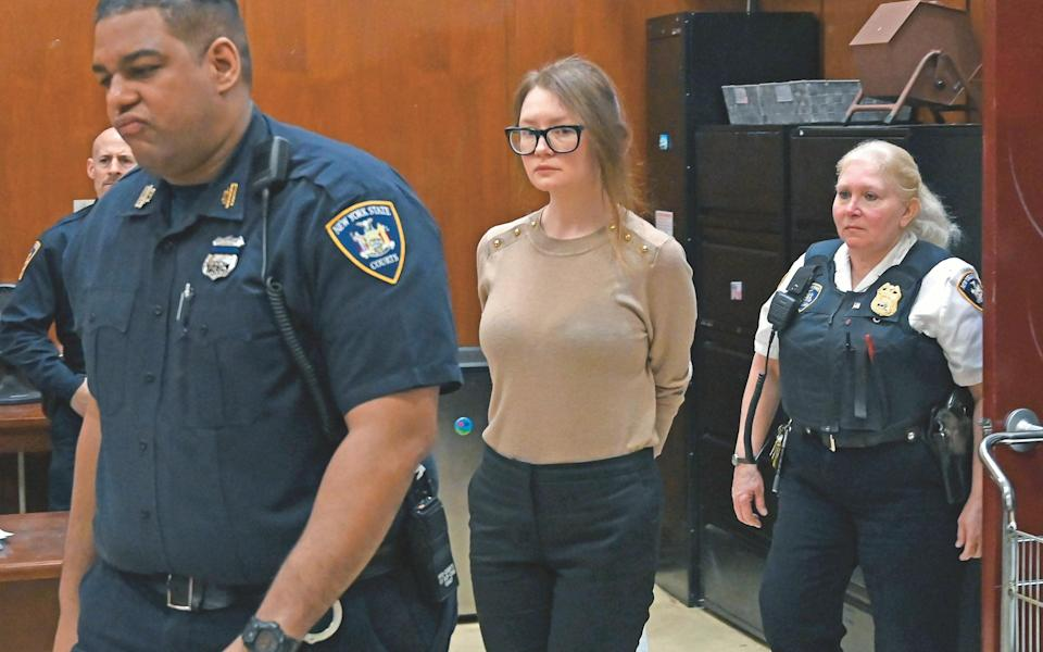 The fashion-obsessed fake heiress 'Anna Delvey' had New York City fooled - AFP via Getty Images