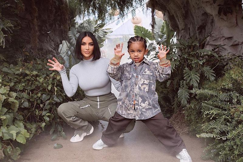 Kim Kardashian West and son Saint | Kim Kardashian/Instagram