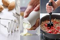 """<p>This range of affordable kitchen essentials, like a garlic peeler & slicer and potato masher, make whipping up new recipes so easy, even novice chefs will be thrilled to spend all winter cozied up in the kitchen.</p> <p><strong>Buy It!</strong> $11 and up, <a href=""""https://www.pamperedchef.com/shop/$25_00+&+Under"""" rel=""""nofollow noopener"""" target=""""_blank"""" data-ylk=""""slk:pamperedchef.com"""" class=""""link rapid-noclick-resp"""">pamperedchef.com</a></p>"""