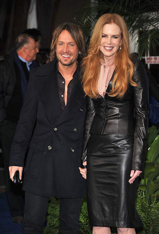 """<a href=""""http://movies.yahoo.com/movie/contributor/1801957581"""">Keith Urban</a> and <a href=""""http://movies.yahoo.com/movie/contributor/1800018939"""">Nicole Kidman</a> attend the Los Angeles premiere of <a href=""""http://movies.yahoo.com/movie/1810150358/info"""">Just Go With It</a> on February 8, 2011."""